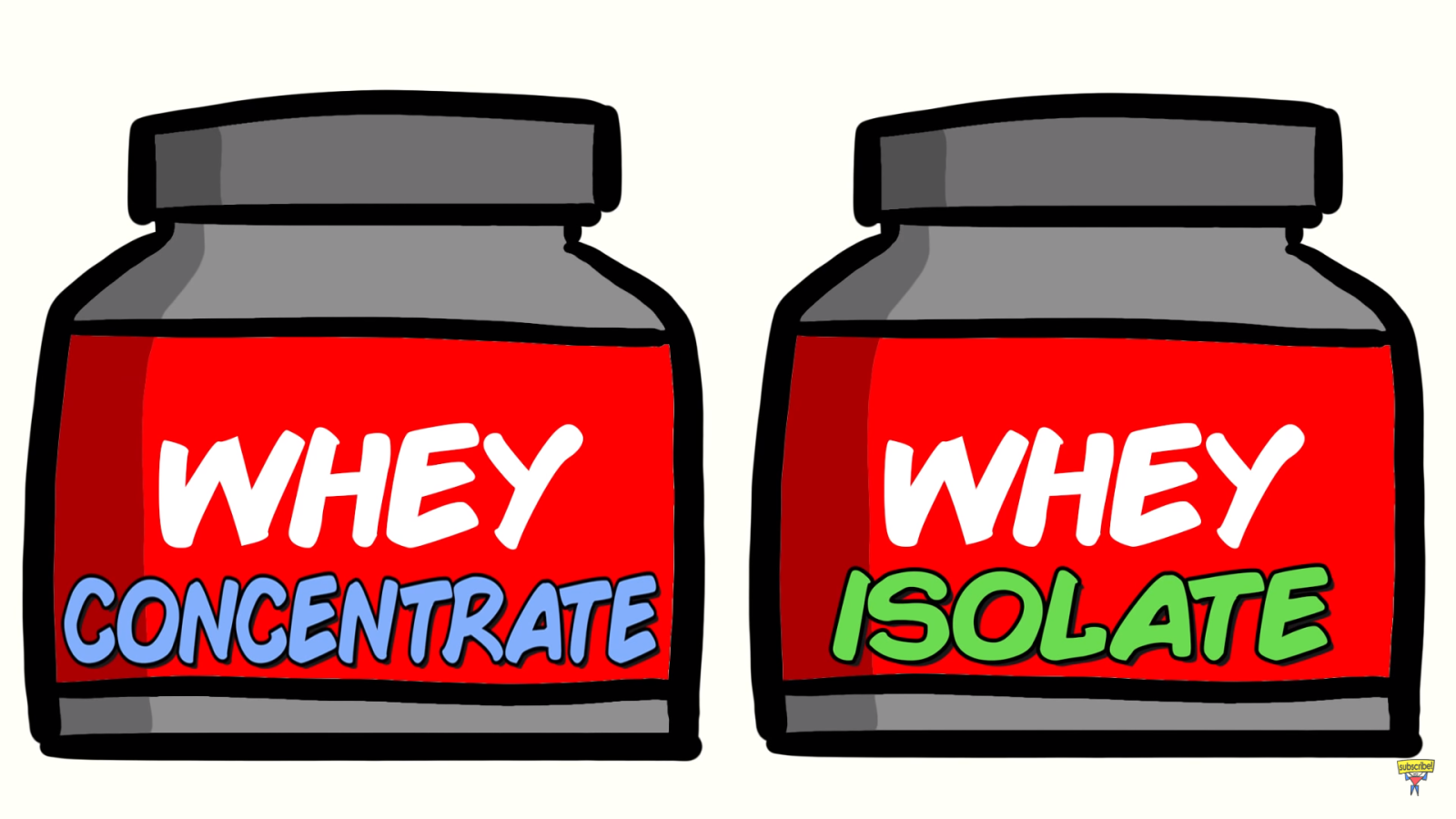 Whey Concentrate vs Whey Isolate ?