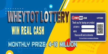 OPPORTUNITY CASH WINNING WITHOUT LIMITATION WHEN BUYING IN WHEYTOT.COM