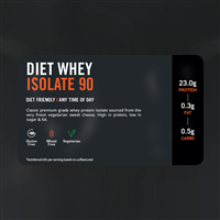 The Protein Works (TPW) Diet Whey Isolate 90 - Apple Cinnamon Swirl (Táo quế) 2kg
