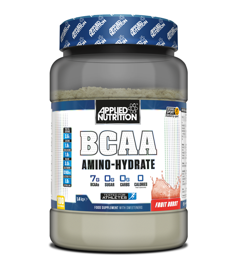 Applied Nutrition - BCAA Amino Hydrate Fruit Burst 1400g - 100 Lần Dùng