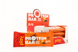 Bánh Protein Bar - Play Nutrion (Hộp 12 thanh)