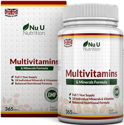 Multivitamins & Minerals Formula | 365 Tablets