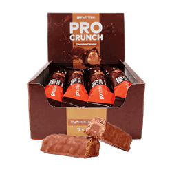 Protein bar Pro-Crunch box with 12 bars