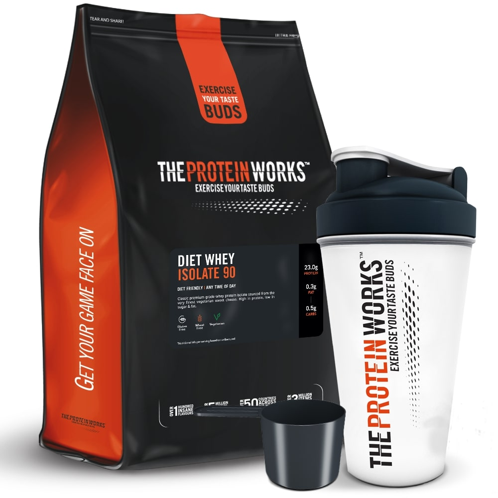 Sữa tăng cơ The Protein Works (TPW) Diet Whey Isolate 90 - Cherry Bakewell (anh đào) 2kg
