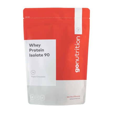 Sữa tăng cơ Whey Protein Isolate 90 1kg 40 lần dùng - Gonutrition