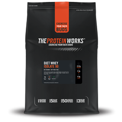 Sữa tăng cơ The Protein Works (TPW) - Diet Whey Isolate 90 - Vị Socola nhẹ 1kg